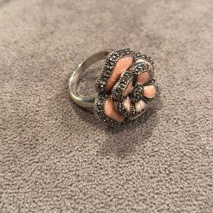 Judith Jack Flower Ring